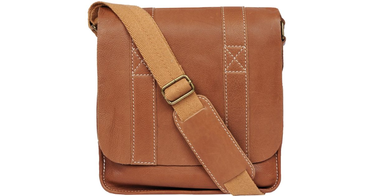 d472f429036e Lyst - Wilsons Leather Black Rivet Vacqueta Leather Tablet Bag in Brown for  Men