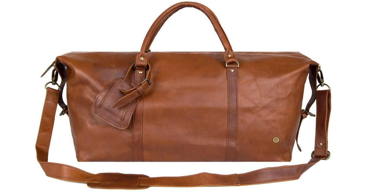 Lyst - Mahi Leather Leather Drake Holdall Weekend overnight Bag In Vintage  Brown in Brown for Men - Save 24.463519313304715% 6691703bf6b44