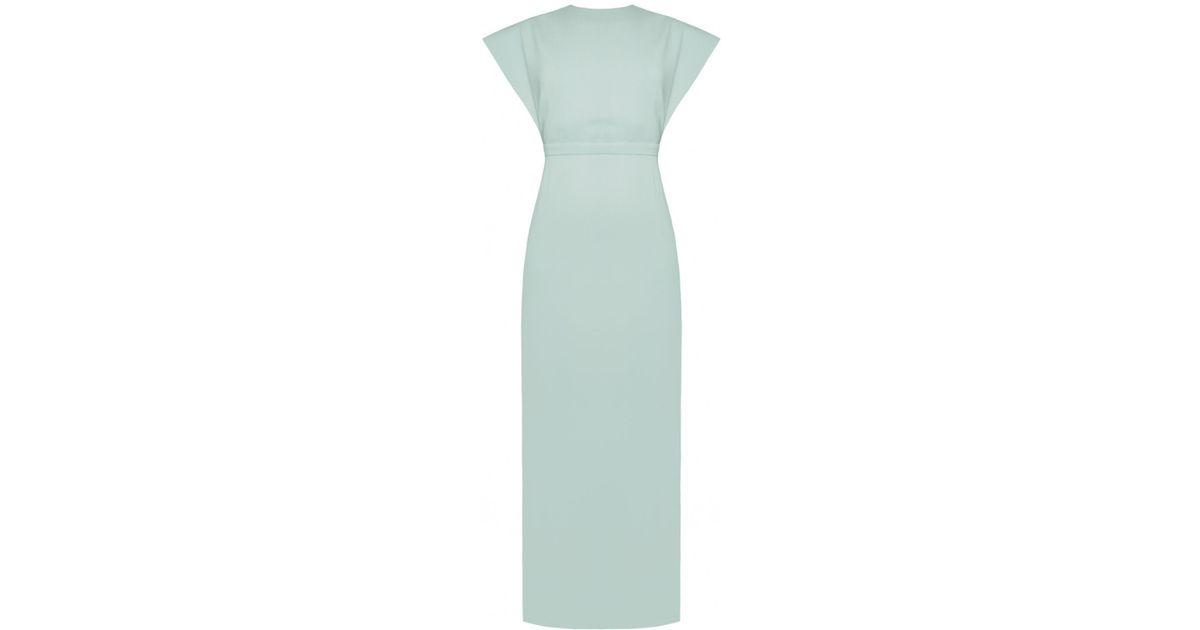 b887c62f7253 Lyst - UNDRESS Mangata Mint Green Open Back Maxi Occasion Wedding Guest  Dress in Green
