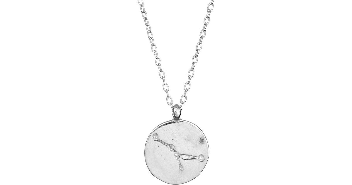Chupi Cancer We Are All Made Of Stars Star Sign Necklace In Silver