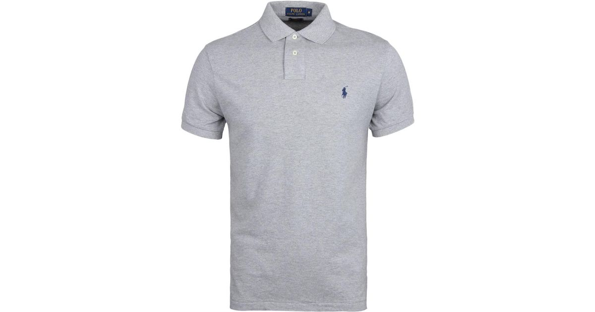 Men Polo Lauren Andover Shirt Ralph Heather Lyst For Gray Yvbyf67g