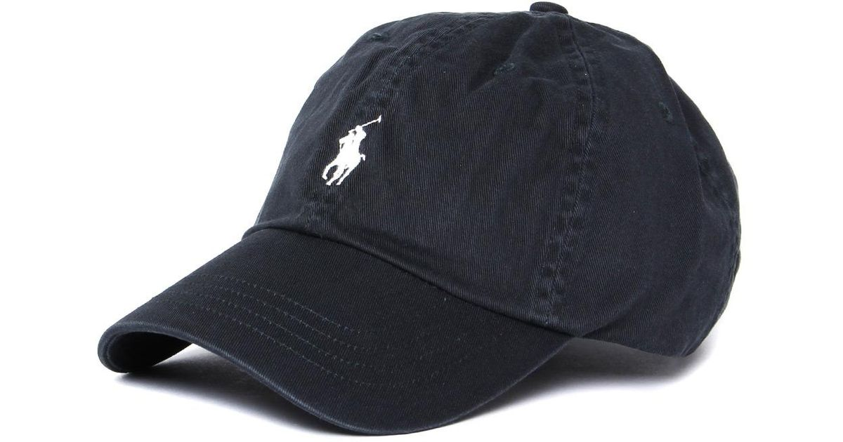 Lyst - Polo Ralph Lauren Dark Carbon Grey Classic Sport Cap in Blue for Men e4522cdcea4