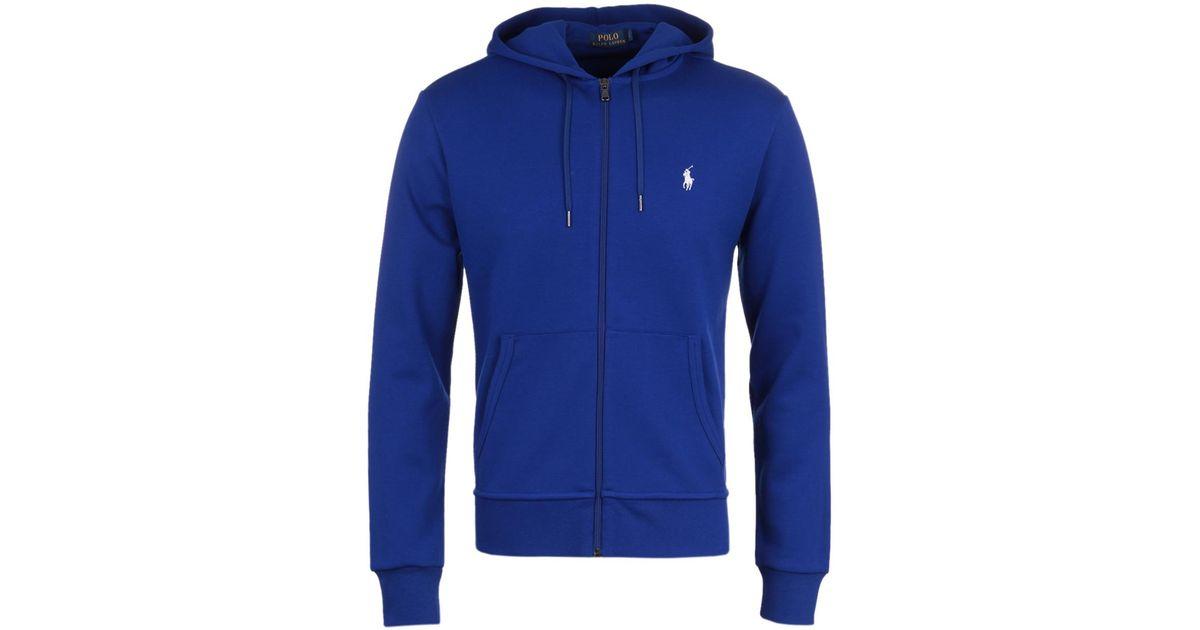 c0ea1a486 ... release date lyst polo ralph lauren heritage royal blue hooded  sweatshirt in blue for men c065d