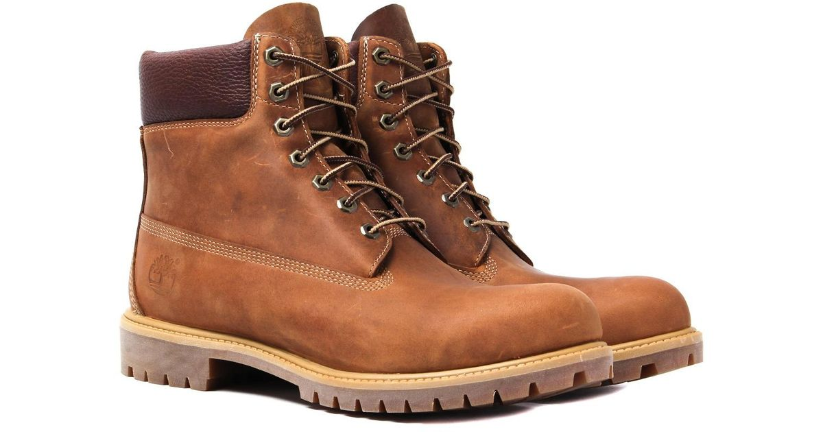 cc2319fe40 Timberland 6 Inch Anniversary Original Brown Boots in Brown - Lyst