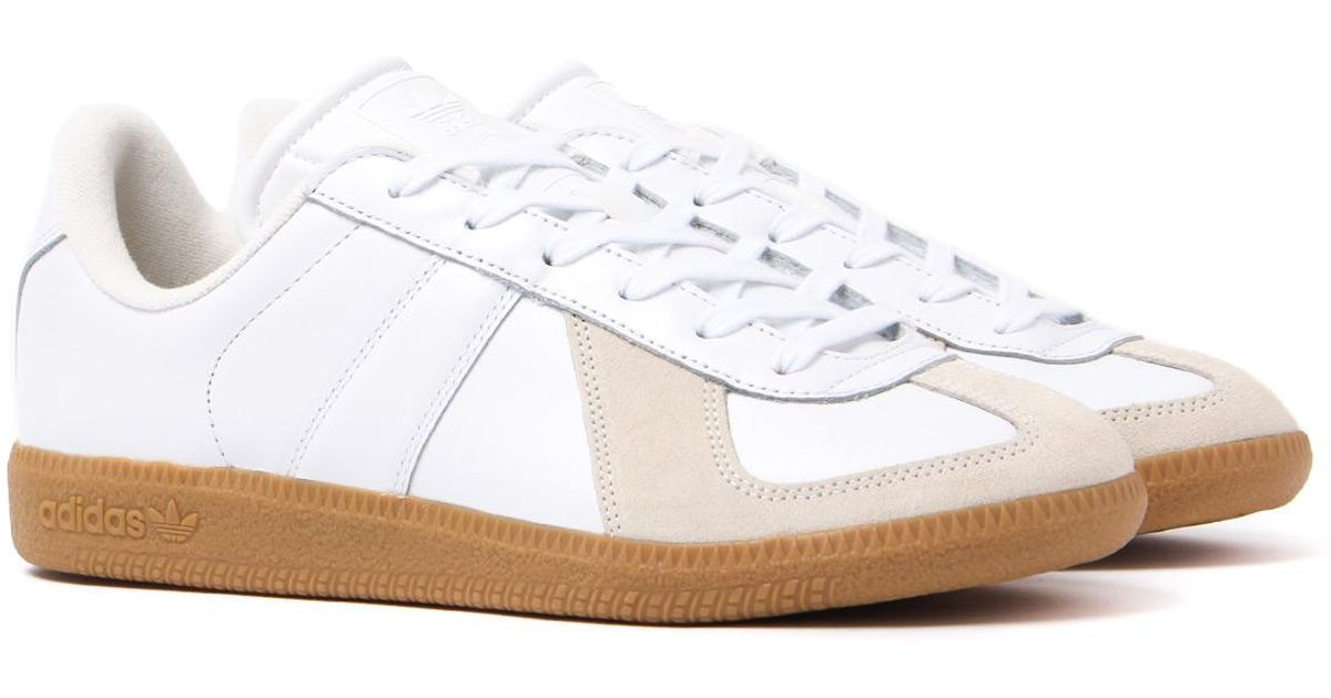 timeless design aa2d0 36c67 Lyst - adidas Originals Bw Army White Leather Vintage Trainers in White for  Men
