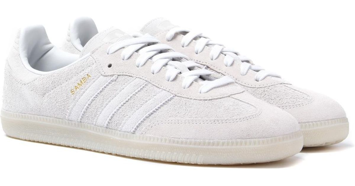 best sneakers c684a f13d4 Lyst - adidas Originals Adidas Samba Og Crystal White Trainers in White for  Men