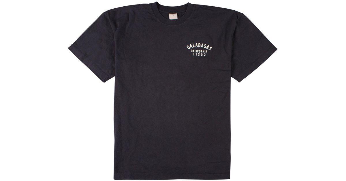 3f22702a Yeezy 'calabasas Califorina' Eagle T-shirt in Black for Men - Lyst