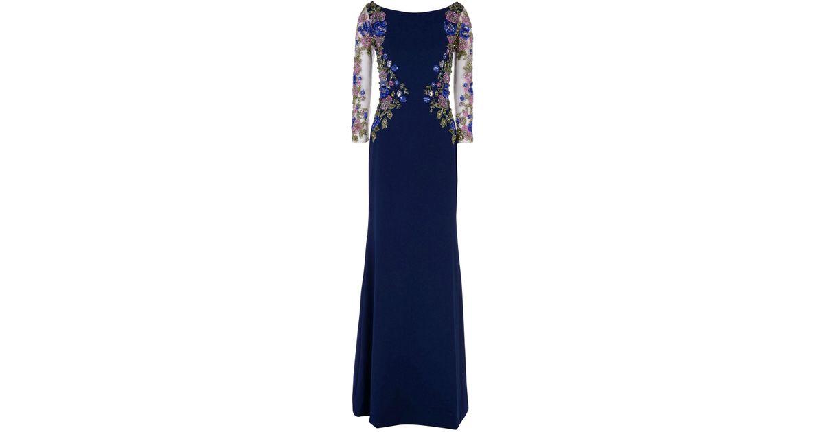 Lyst - Patricia Bonaldi Long Dress in Blue