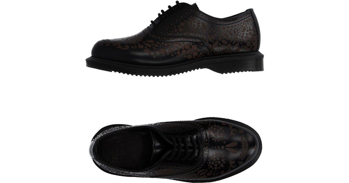 Dr Martens  Eye Lace Up Black Oxford Shoes