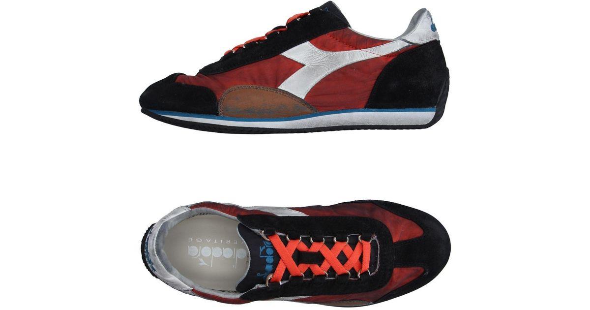 f01ea7dcb32f1a Lyst - Diadora Low-tops   Sneakers in Black for Men