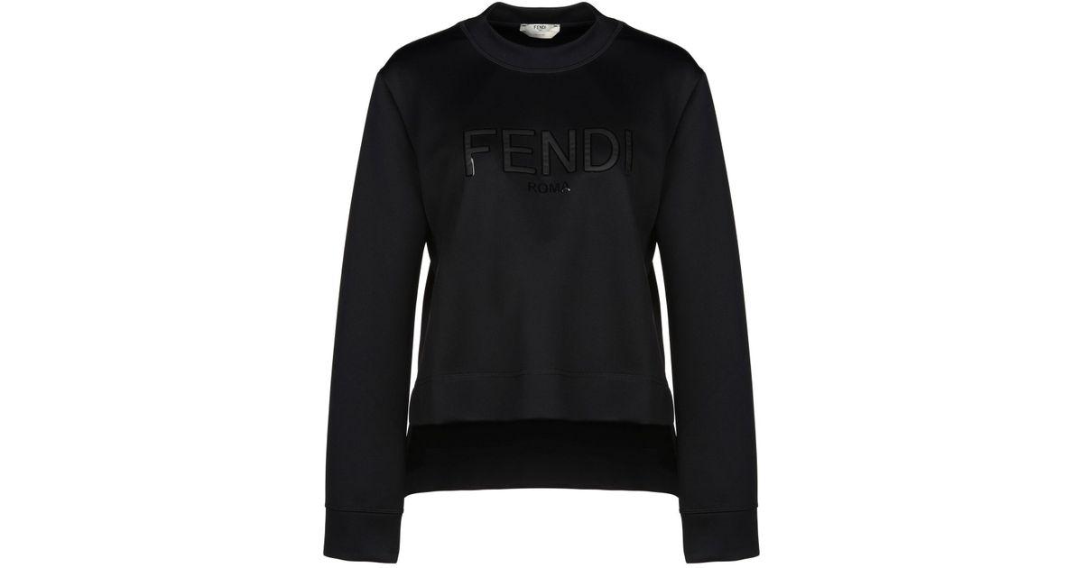 baratas para descuento 13852 9c3d0 Fendi - Black Sudadera - Lyst