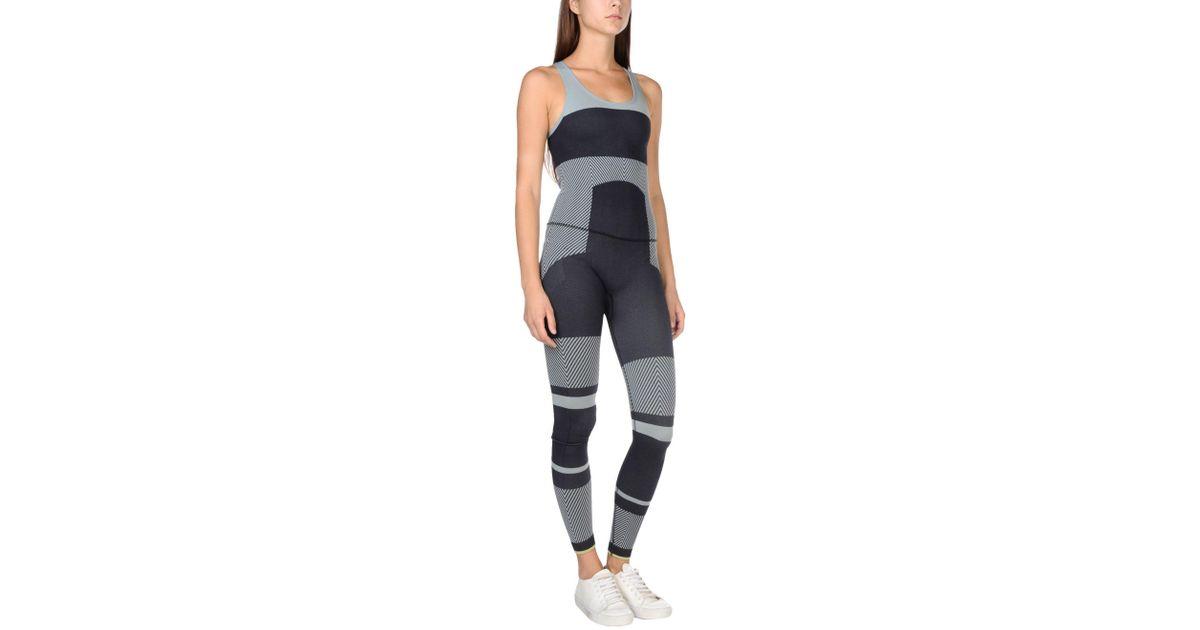 half off 2fa9c 04902 new zealand lyst adidas by stella mccartney jumpsuit in blue 7e316 f965f