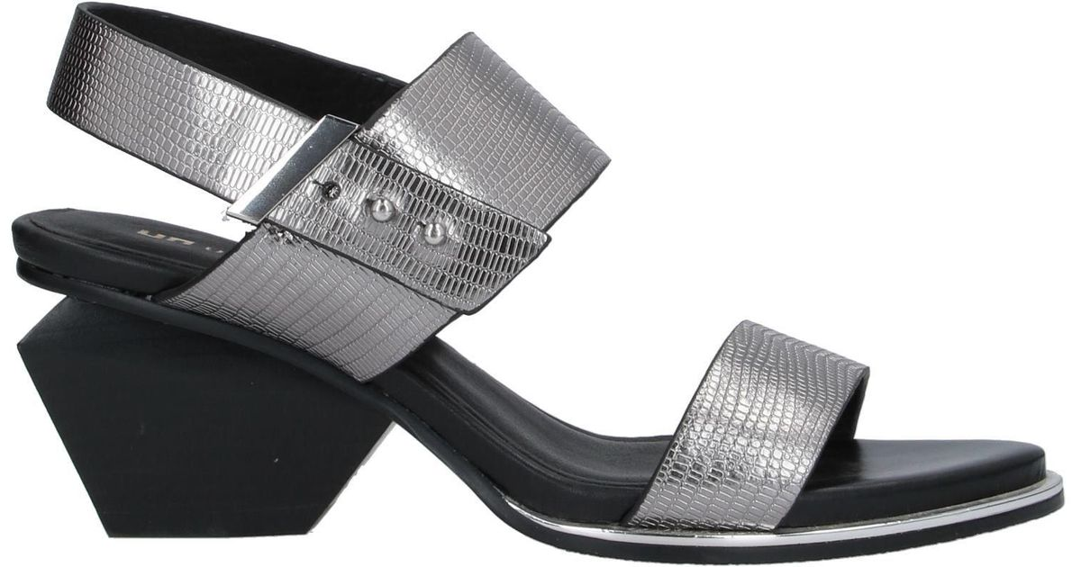 Lyst - United Nude Mobious Slide Sandals in Black