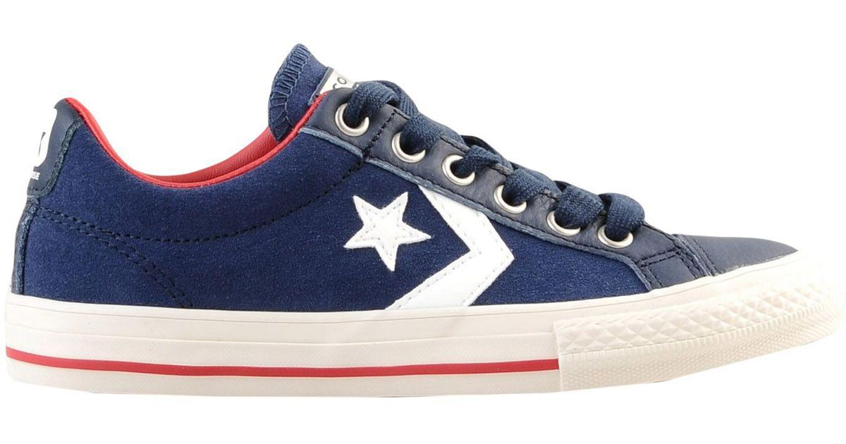 a6b1cab9ebda Converse Low-tops   Sneakers in Blue - Lyst