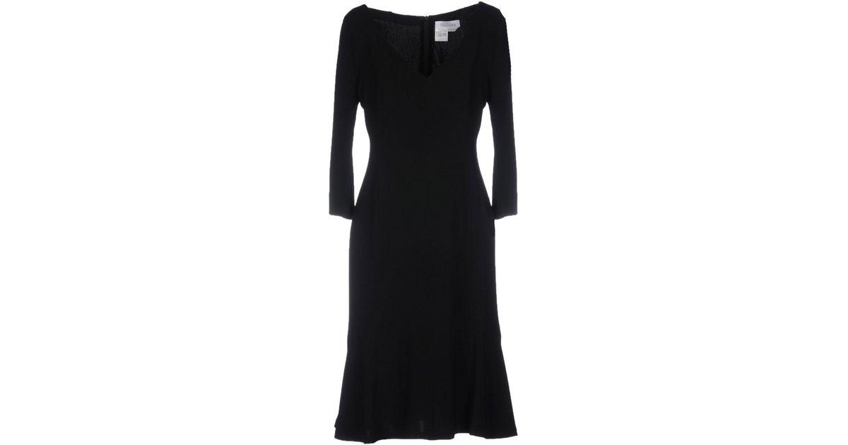 Lyst Max Mara Short Dresses In Black