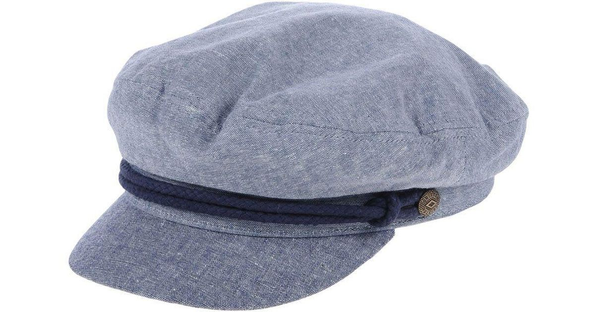 12f9676ff4965 ... canada brixton hat in blue for men lyst f4845 9e93b