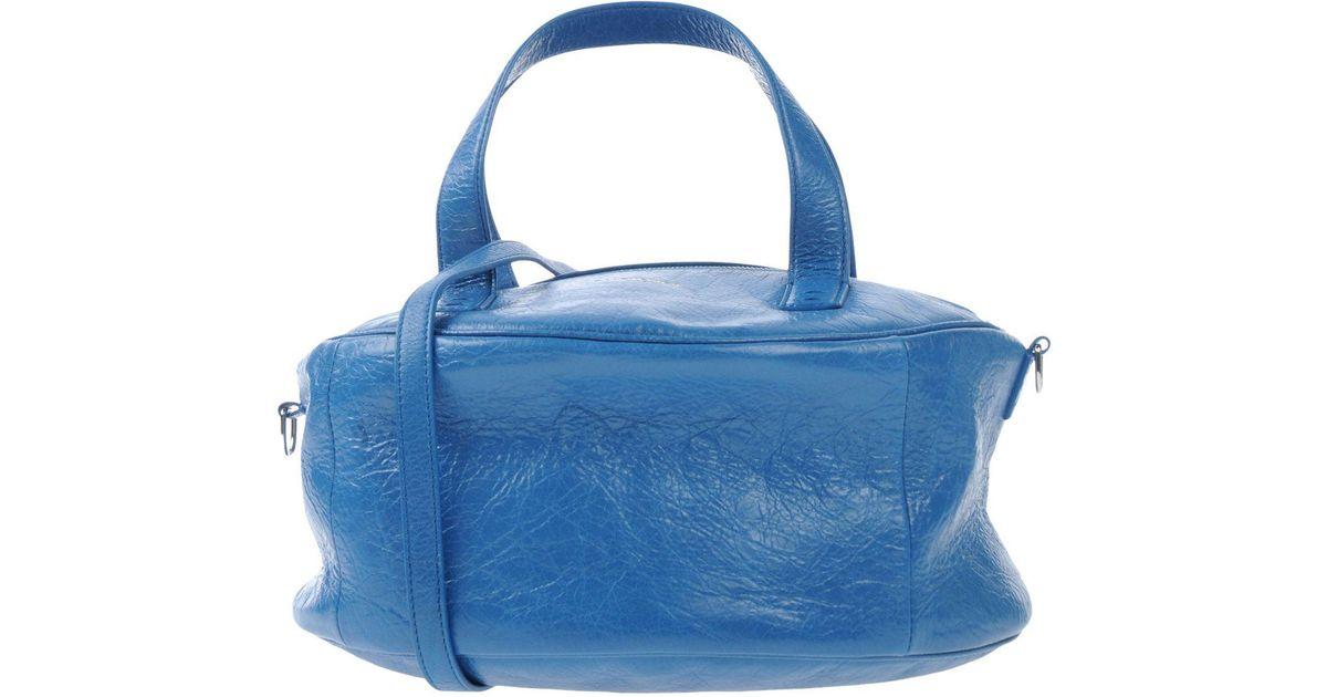 Balenciaga Blue À Sac Lyst Main oQrxBdCWe