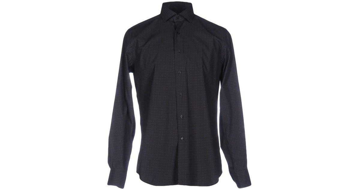 c211985ac390b Lyst - Xacus Shirt in Black for Men
