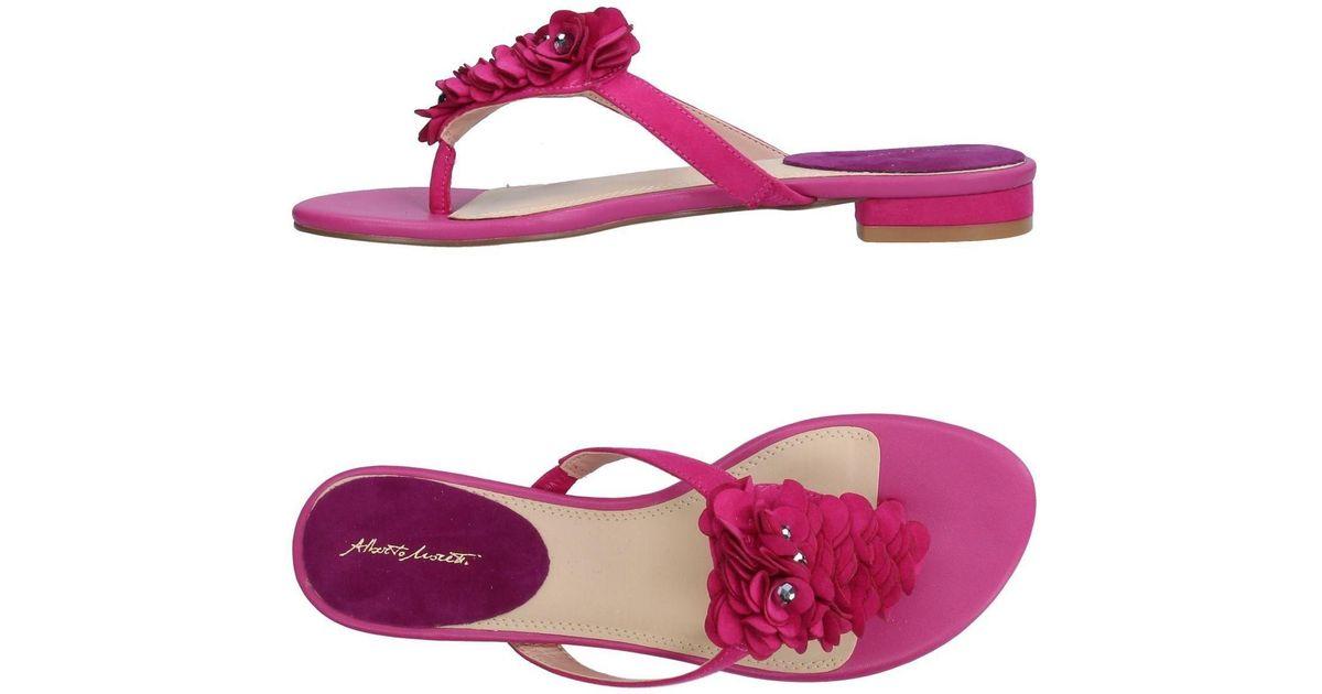 FOOTWEAR - Toe post sandals Alberto Moretti 8JitsWIb5b