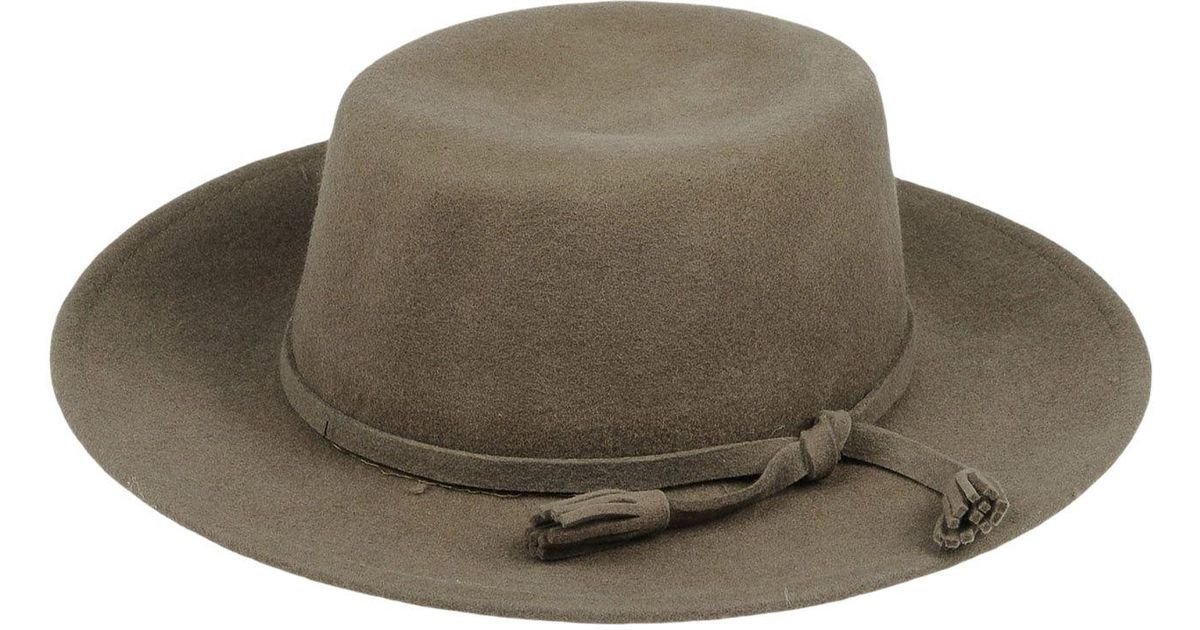 Lyst - Compañía Fantástica Hat in Green bed27fb6cc1f