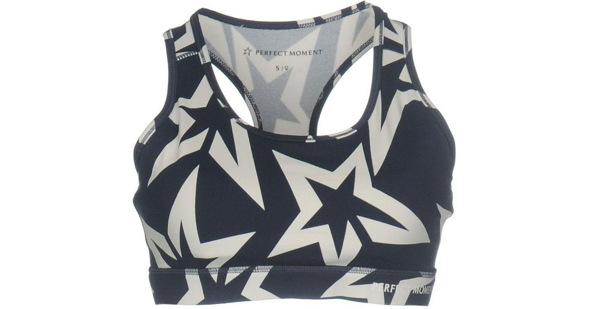 5489a0cf88122 Lyst - Perfect Moment Top in Blue