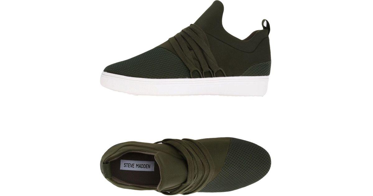 4d7f087786c Lyst - Steve Madden Low-tops   Sneakers in Green