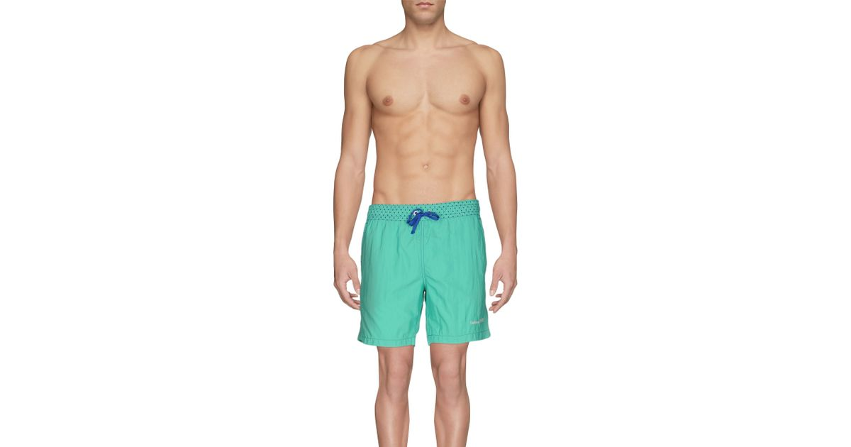 0cfd1b62a7 Gianfranco Ferré Swimming Trunks in Green for Men - Lyst