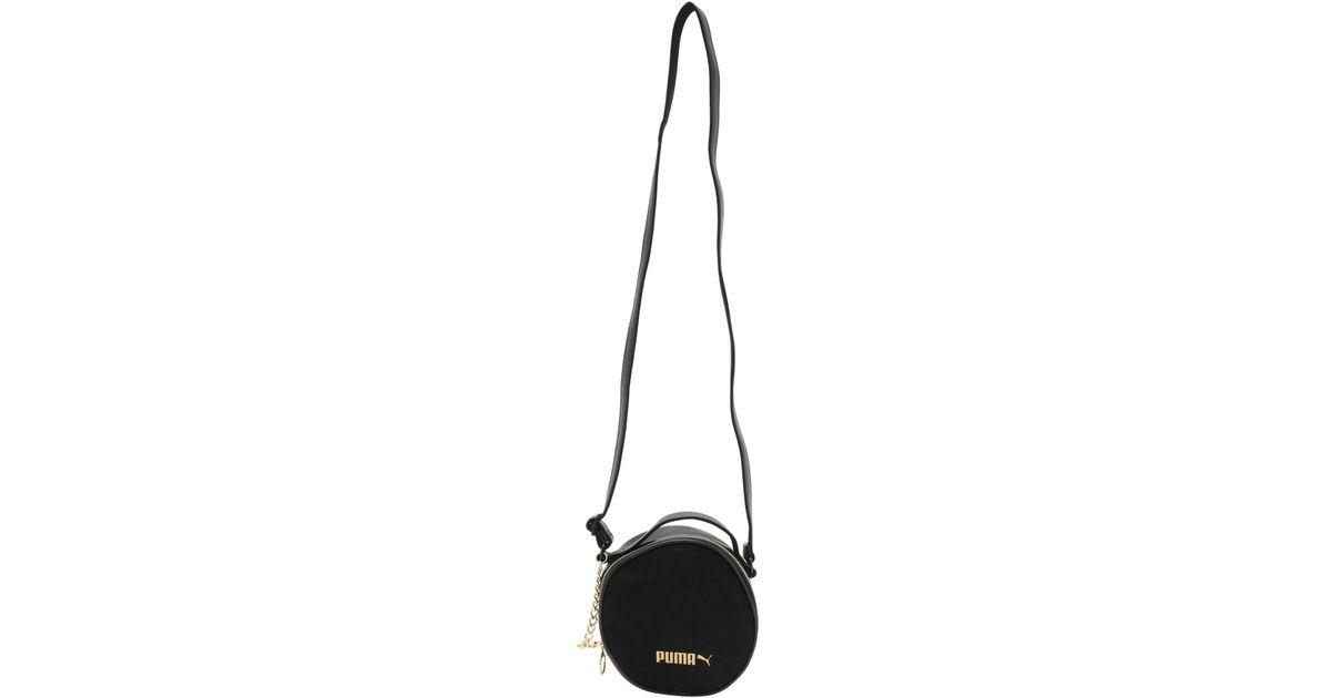 0464275ac963 PUMA Cross-body Bag in Black - Lyst