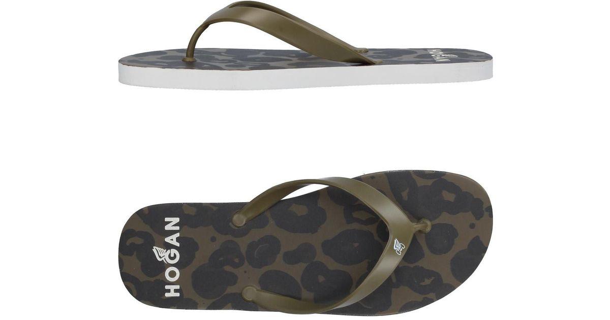 Sandales Attachées Hogan - Vert M12SI0