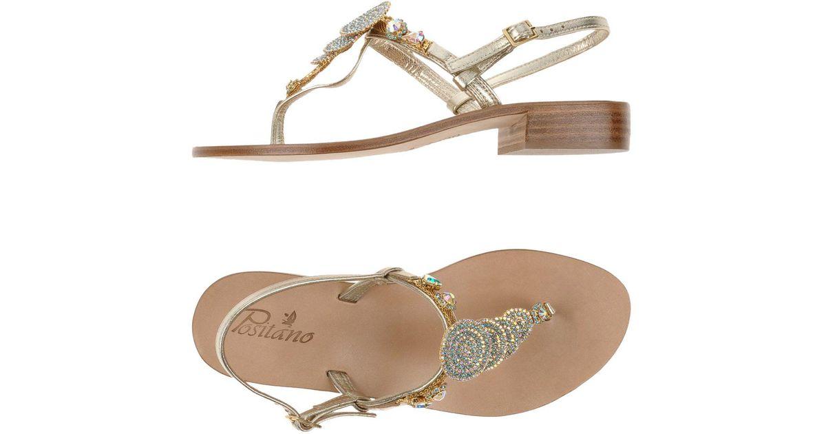 FOOTWEAR - Toe strap sandals on YOOX.COM Giallo zRpniM