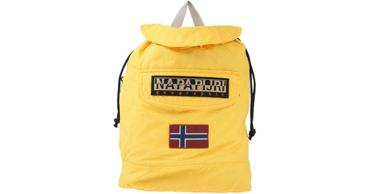 Lyst - Napapijri Backpacks   Fanny Packs in Yellow