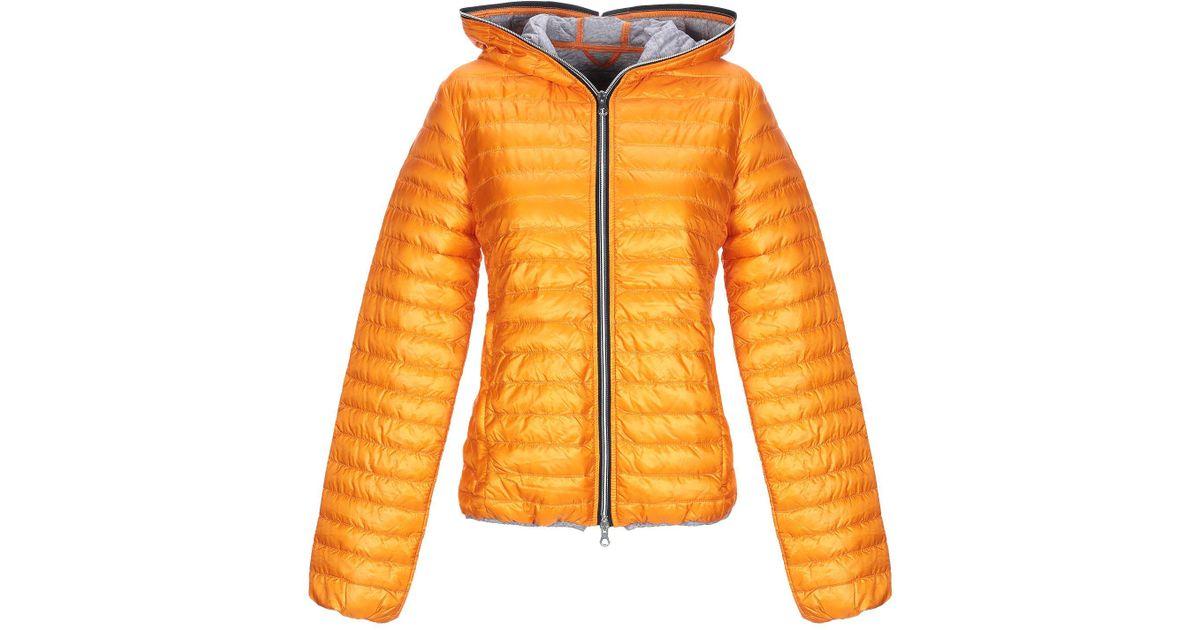 97d496bdb190f Lyst - Doudoune Duvetica en coloris Orange