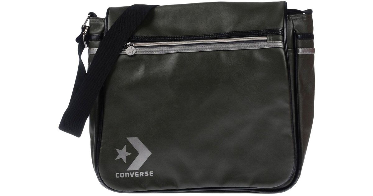 Lyst - Converse Cross-body Bags in Black for Men 0d53e70fc0d89