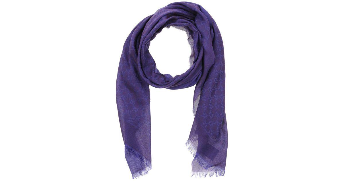 Achat/Vente boutique de sortie chercher Étole Gucci en coloris Purple