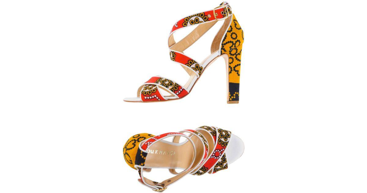 FOOTWEAR - Sandals You Khanga 2eDJowgyi