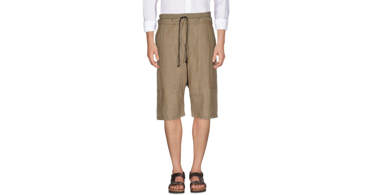 Very Cheap Sale Online Outlet Best Place TROUSERS - Bermuda shorts Isabel Benenato Pre Order Discounts Cheap Online Cost utOIeL11t