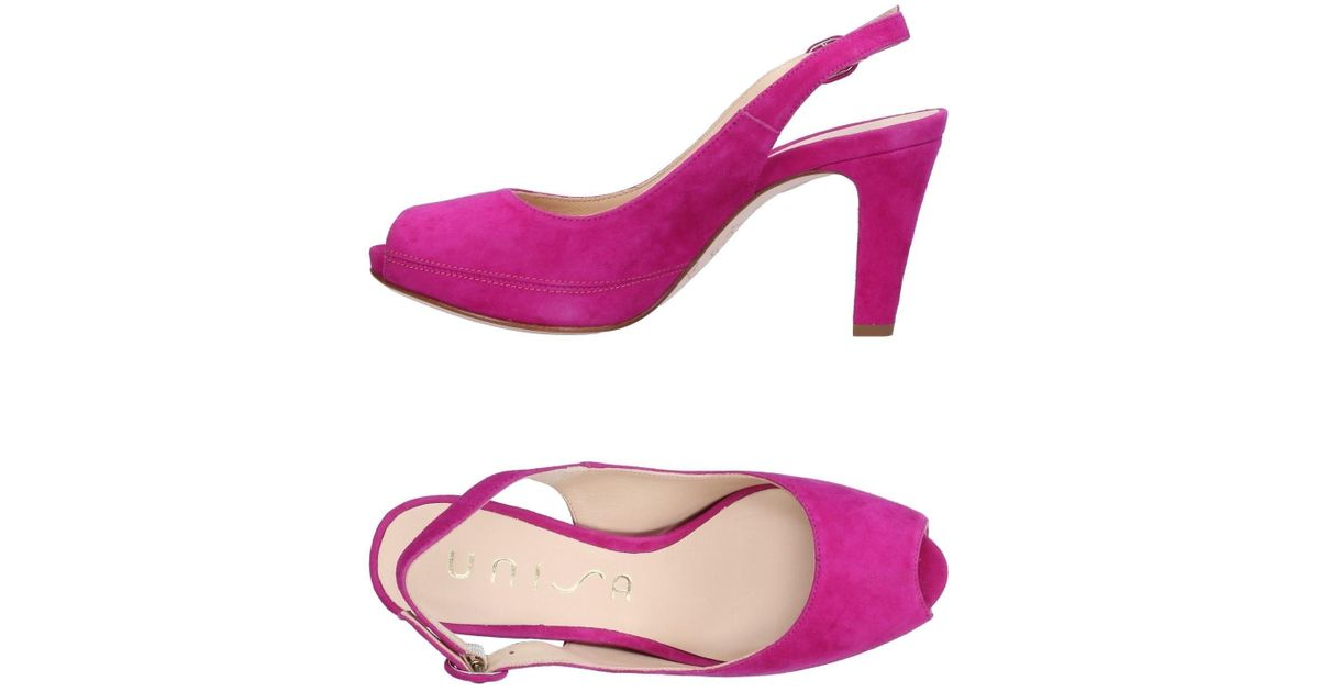dc0347d58035 Lyst - Unisa Sandals in Purple