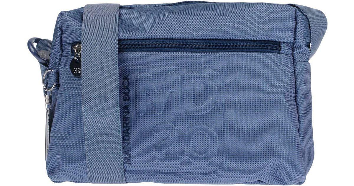 Blue Y6b7vfgy Bandoulière Sacs Duck Mandarina Lyst P0wOX8nkNZ