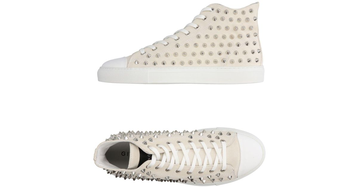 amp; In Lyst High White Sneakers Metal Gienchi Tops IAH4qwA