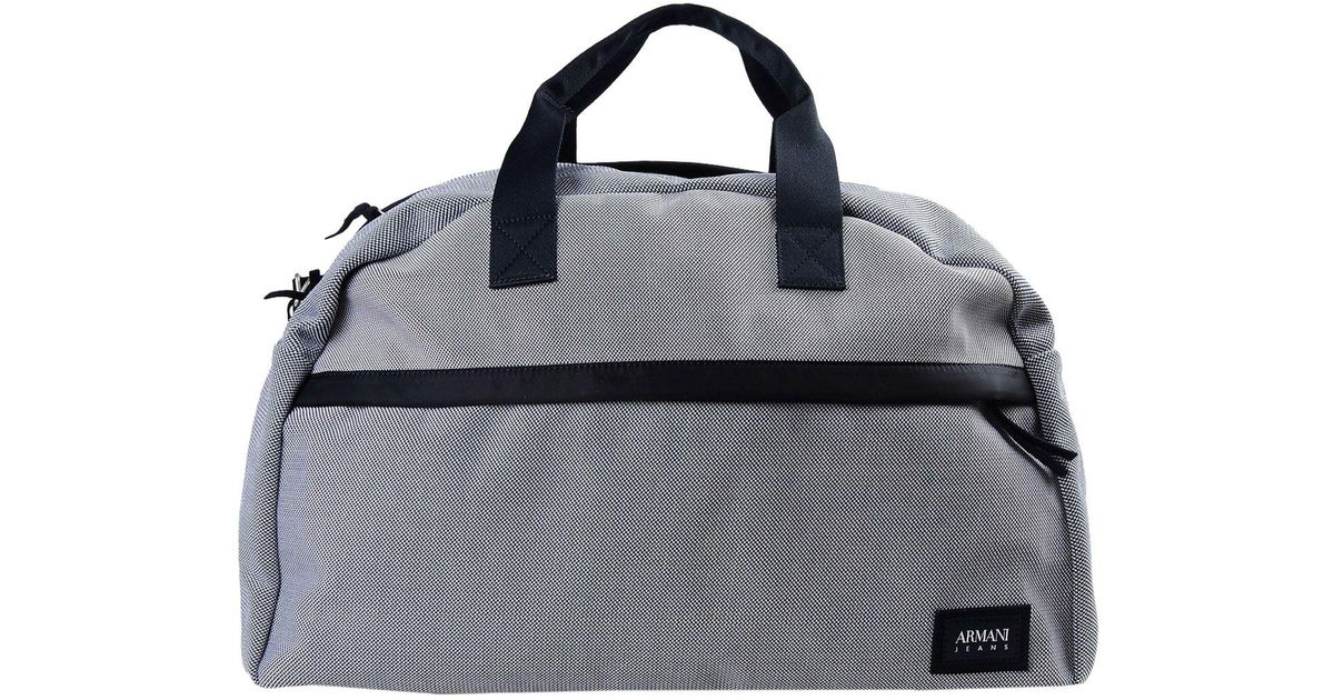 8412b9de1d58 Lyst - Armani Jeans Travel   Duffel Bag in Blue for Men