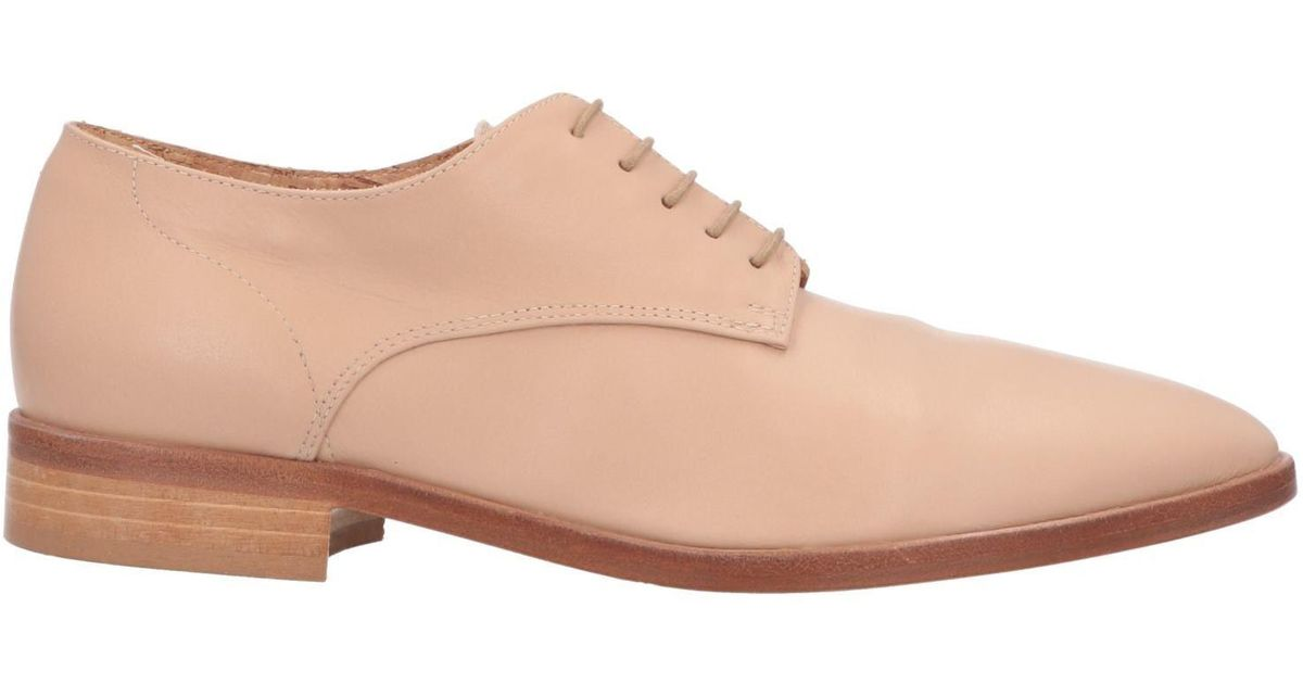 a7b1d4515dc Lyst - Alberto Fermani Lace-up Shoe in Natural