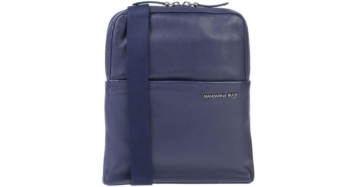 6afbb4066 Bolso con bandolera Mandarina Duck de hombre de color Azul - Lyst