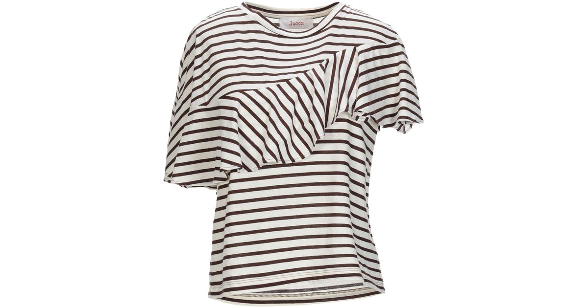 outlet store 69ceb 93b80 Jucca - Natural T-shirt - Lyst