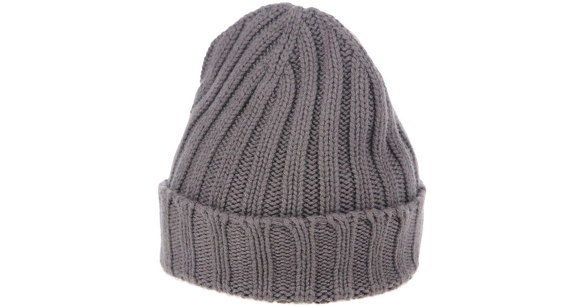 4de926c07 Lyst - Drumohr Hat in Gray for Men