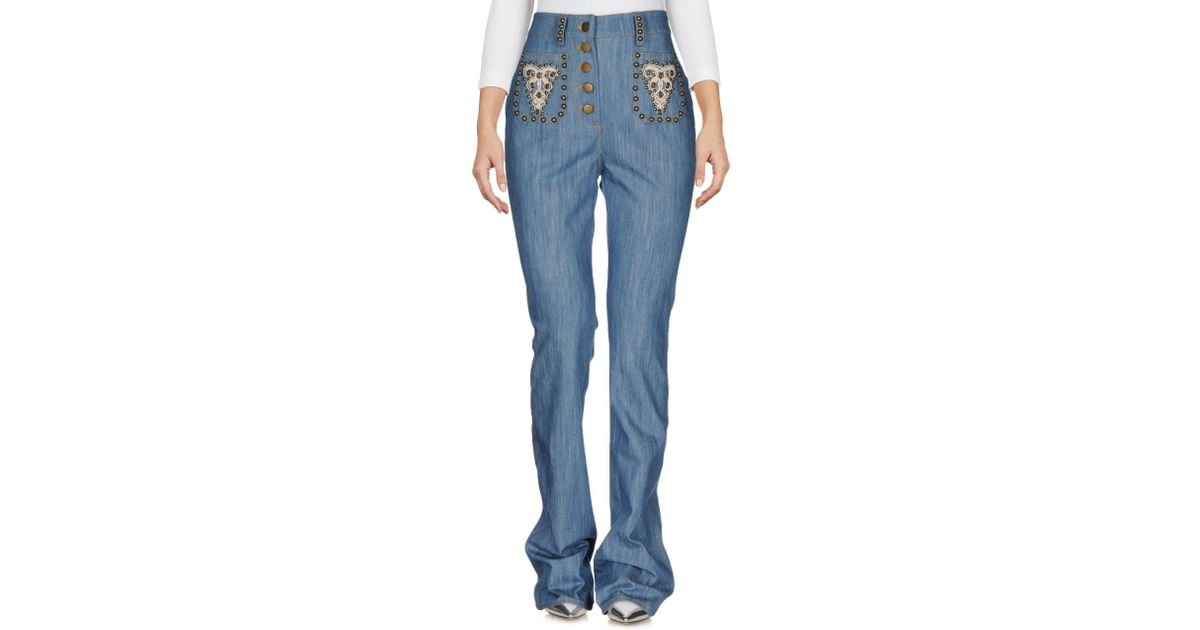 DENIM - Denim trousers Manoush dC7pOV7cM