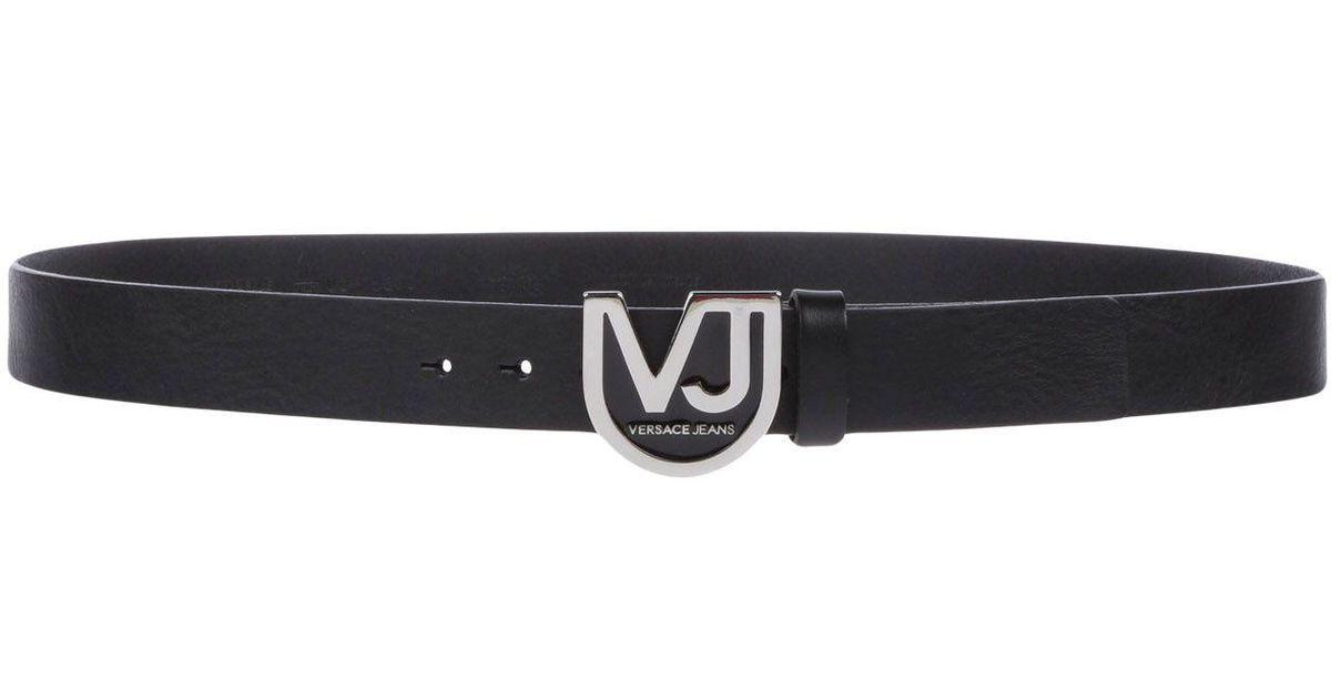 Lyst - Ceinture Versace Jeans pour homme en coloris Noir d4c4ab1d071