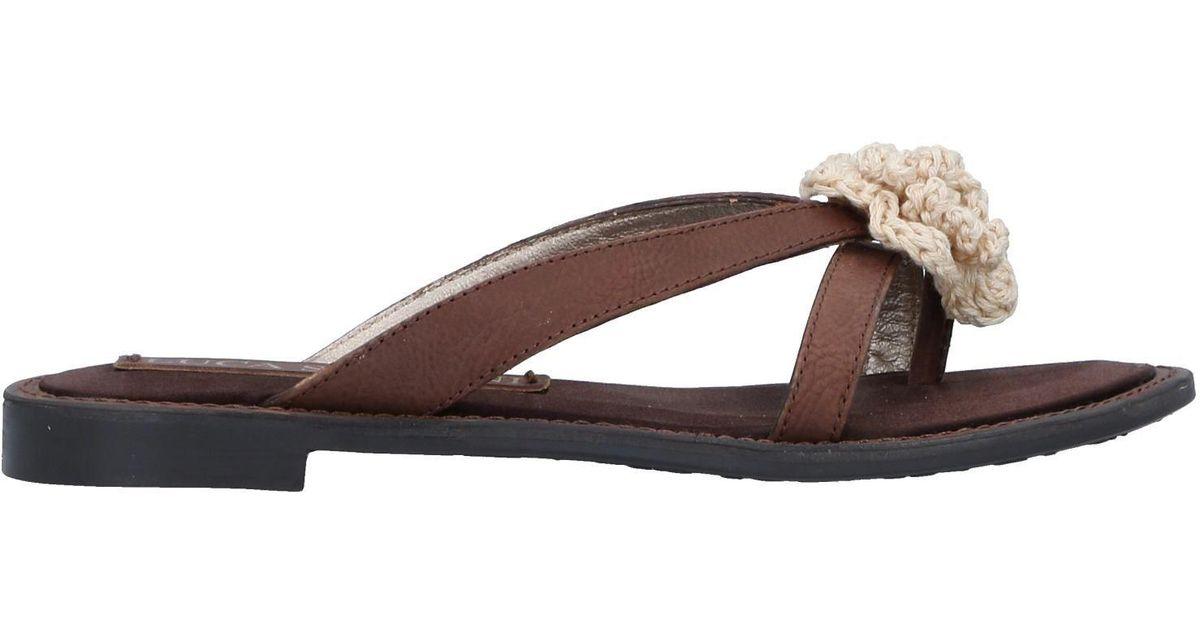 new styles 2dd1a 16a8e luca-stefani-Cocoa-Toe-Post-Sandal.jpeg