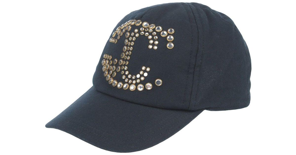 Lyst - Just Cavalli Hats in Black 99961fe3139