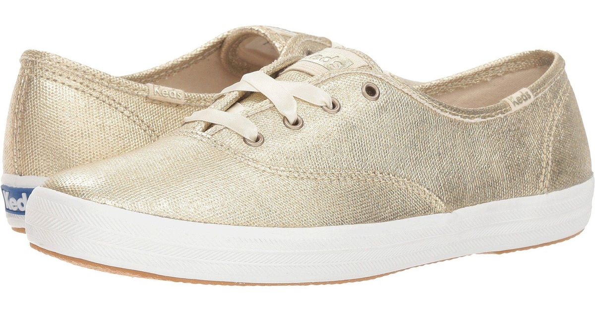 30b5480fe075 Keds Champion Matte Brushed Metallic in Metallic - Save 21% - Lyst