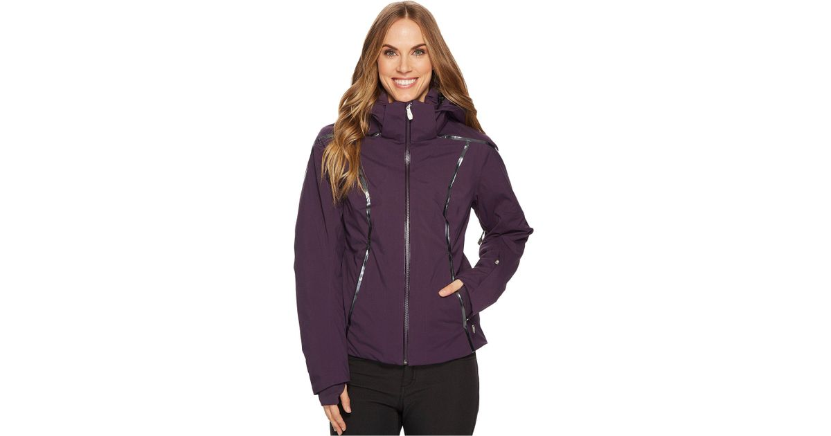 9903a464e Spyder Project Jacket in Purple - Lyst